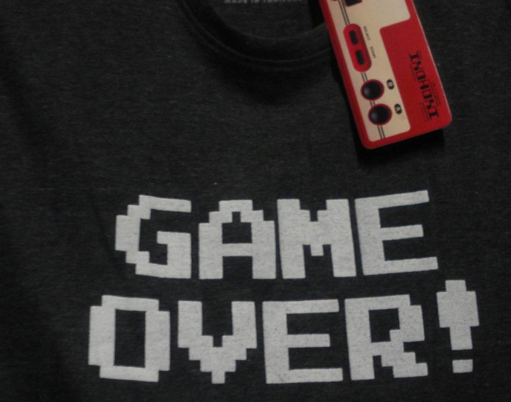 ゲームオーバー